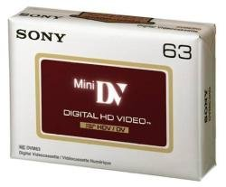 Sony - Digital Video-Kassette, High Definition DV, 63 Minuten