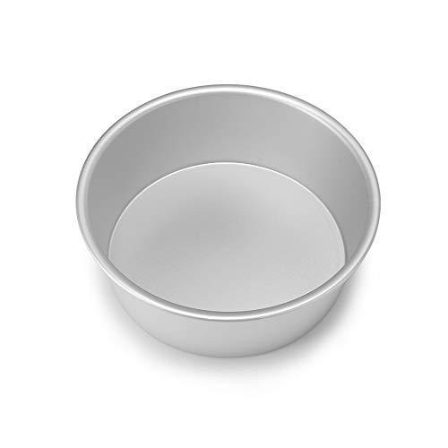 ONEVER Ronde en aluminium de cuisson Tin Moule Moule Pan Cake Sandwich Cuisine Bricolage 8Inch