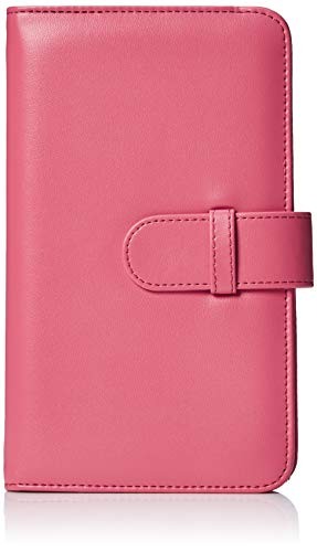 Amazon Basics - Album a portafoglio per 108 foto Instax Mini, rosa