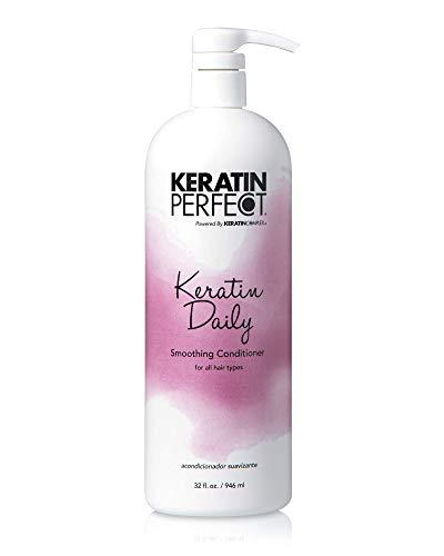 Keratin Perfect Daily Smoothing Conditionner pour Tout Types de Cheveux 32 oz 946 ml 1 Unité