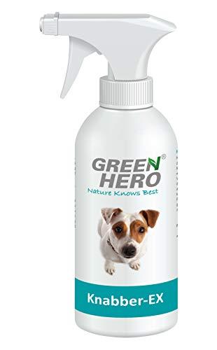 Green Hero Knabber-EX für Hund & Katze, Verhindert Knabbern & Kauen, 1 x 500 ml