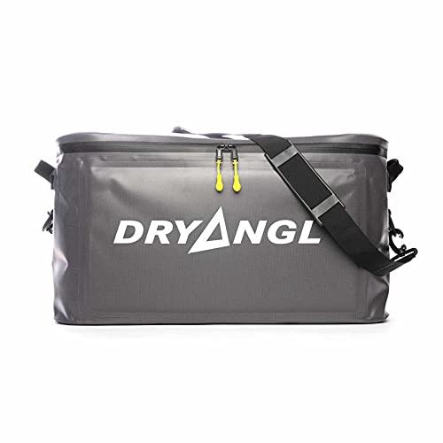 DRYANGL® Geartub 40l   4in1 Faltbare Segel Wind Kite Surf Bootstasche Shoulder-Bag   Change-Mat, Spül-Wanne, Wetsuit-Abtropf-Behälter   Kratzfest, auslaufsicher, große Öffnung YKK-Zipper