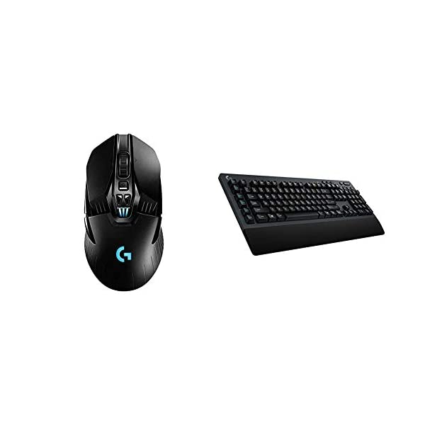 Logitech G903 LIGHTSPEED Wireless Gaming Mouse W/ Hero 16K Sensor, 140+ Hour with...