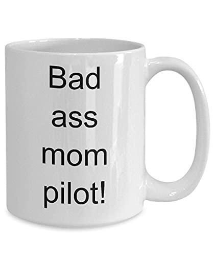 Taza de regalo para Piloto Piloto Piloto Taza Bajo Mamá Piloto Divertido Piloto Piloto Taza Idea Regalo Piloto para Piloto Piloto Momá Cup Futuro Piloto Piloto