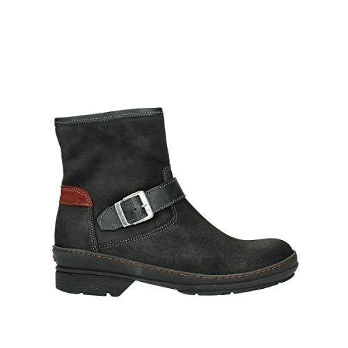 Wolky Comfort Stiefel Nitra - 45000 schwarz Veloursleder - 43