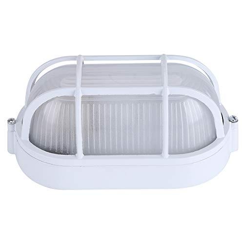 Cerlingwee Lampe pour sauna, lampe résistante, classique anti-hautes températures, pour salle de massage (Oval)