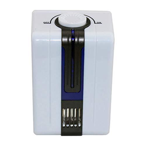 Wakauto Purificador de Aire Máquina de Esterilización Cpap Limpiador Mini Generador de Ionizador Casero Portátil Respirador de Apnea del Sueño Actualizado para Aire Fresco Interior