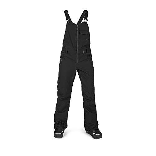 Volcom Women's Swift Bib Overall Snowpant, BLACK, L