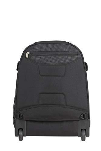 Samsonite Sonora - 17 zoll Laptoprucksack mit rollen, 55 cm, 30 L, Schwarz (Black)