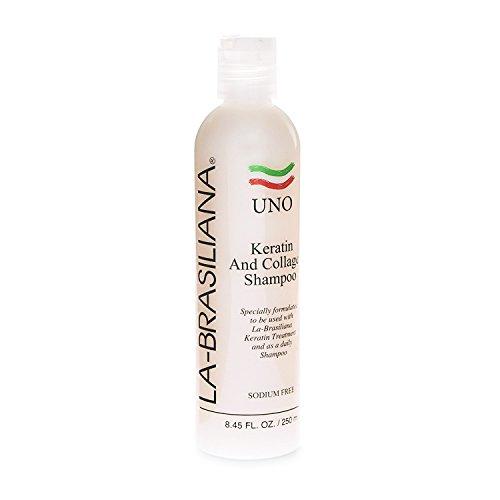 La Brasiliana Uno Keratin After Treatment Shampoo- 8oz