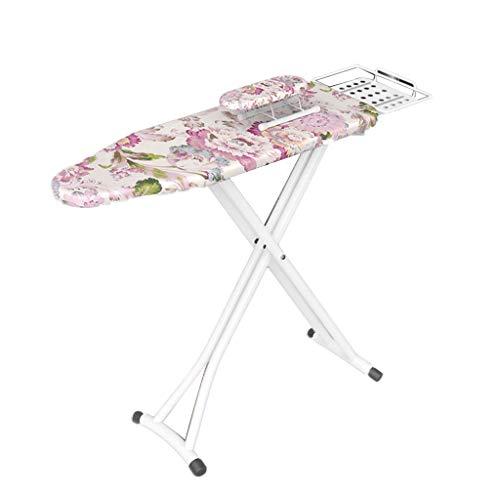 Großflächiges Bügelbrett mit Tablett Metall Klappgestell Schlafzimmer Kleine Wohnung Balkon Werkzeuge für Kleidung