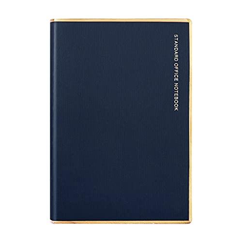 MIORIO A5 Cuaderno Retro PU Funda de Cuero Bloc de Notas Forrado Página 128 Hojas Diario de Escritura Cuaderno Diario Escuela Oficina Papelería