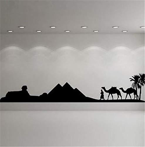 pegatina de pared etiqueta de la pared Camello egipcio para dormitorio sala de estar decoración del hogar