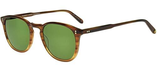 Garrett Leight KINNEY BLONDE TORTOISE BLONDE TORTOISE FADE/PURE GREEN 49/21/145 Unisex Sonnenbrillen