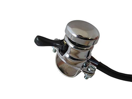 Motorfietsschakelaar Lucas-stijl - claxon koplamp pot voor 7/8 inch 22mm stangen
