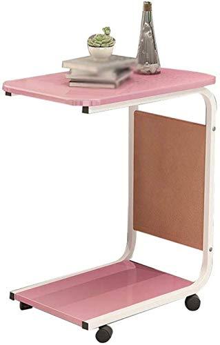 HGJINFANF Armario Lateral Tabla Creativa pequeña de Almacenamiento de Comidas Armario Lateral del sofá del Dormitorio Estante de Mesa de café extraíble (Color : B)