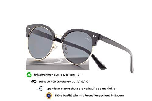 GreatLakes Clubmaster - Gafas de sol para mujer (PET reciclado, UV400)