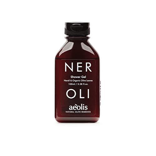 AEOLIS Skincare | NEROLI Nourishing Shower Gel | Neroli & Olivenblätter | Sorgt für weiche und vitale Haut | 100% natürlich & nachhaltig | Ohne künstliche Zusätze (Neroli, 100ml)