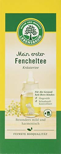 Lebensbaum Kräutertee Im Teebeutel - Mein Erster Fencheltee, 35 g