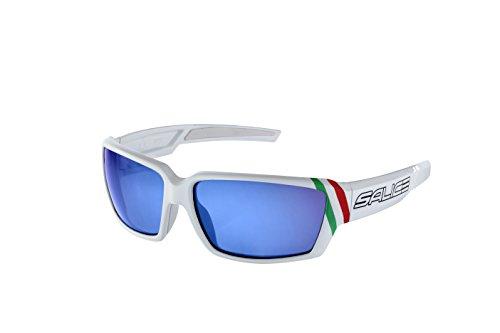 Salice 008ITA, occhiale Sportivo Unisex – Adulto, Bianco, Medium