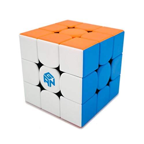 Cubikon GAN 356 RS Stickerlos - Nice Price GAN Cube - 3x3 Zauberwürfel - GAN356 RS - Speedcube 356RS - GAN356RS inkl Tasche