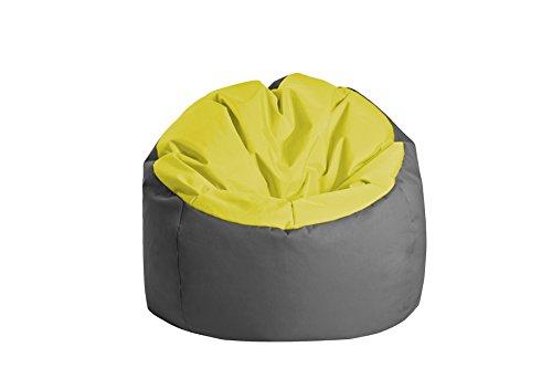 Jumbo Bag 30170–30Sitzsack Globe Polyester Grün anisgrün/anthrazit 70x 70x 70cm