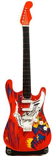 Miniatur Gitarre Dekogitarre E-Gitarre Fender Stratocaster 24 cm airbrush #178
