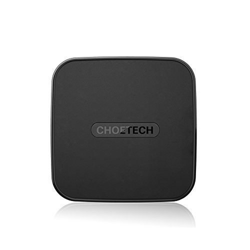 Caricatore Wireless, Choetech Ricarica Wireless QI Charge per iPhone 8/8Plus, iPhone X, Galaxy S9/S9 Plus/S8 / S8 Plus/S7/ S7 Edge/ S6 e Tutti i Dispositivi Certificati da Qi [Cavo USB C incluso]