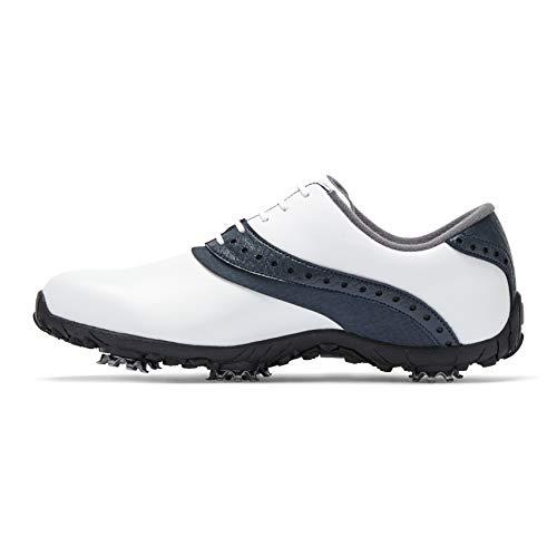 Footjoy Damen Arc Lp Golfschuhe, Weiß (Blanco/Azul Navy 93951w), 40 EU