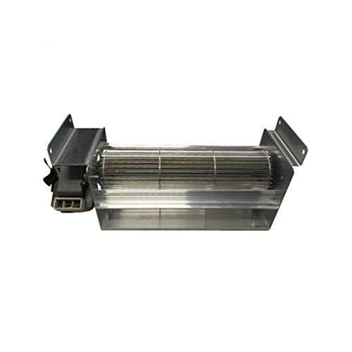 Xodo Store Ventola tangenziale Lunghezza Totale 383 mm, Dimensioni Bocchetta 283x44 mm, per Stufa a Pellet Edilkamin, Italiana Camini