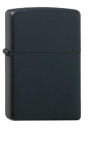 Zippo Feuerzeug 60001320 Regular Media, Chrom/schwarz/Matte Benzinfeuerzeug, Messing, Edelstahloptik, 1 x 3,5 x 5,5 cm