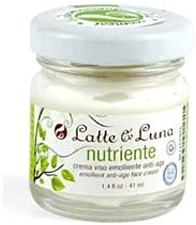 LATTE & LUNA - Nourishing - Anti-age emollient face cream - relaxing and restorative - for all skin types - 41 ml