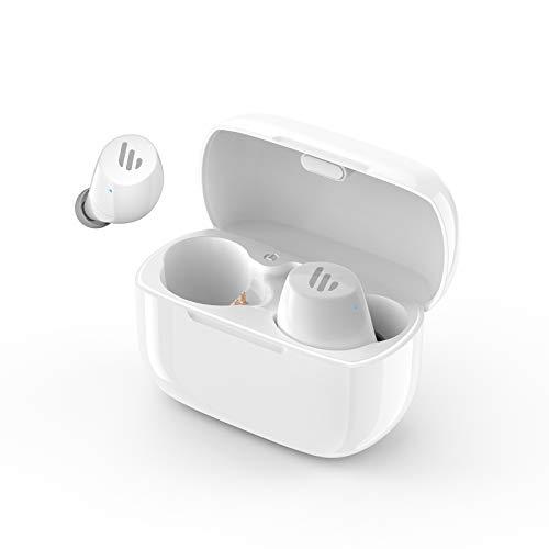 Edifier TWS1 Bluetooth v5.0 aptX ワイヤレスイヤホン 高音質 充電ケースマイク付き最大32時間のバッテリー寿命 IPX5 防汗 耳に優しいBluetoothイヤホン - 白