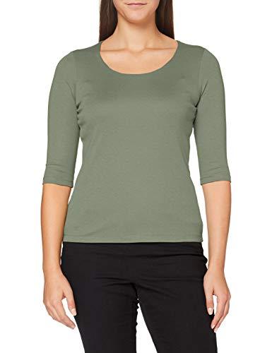 Street One Damen 313977 Style Pania T-Shirt, Rich Celadon, 38