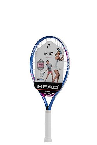 """HEAD Instinct Kids Tennis Racquet - Beginners Pre-Strung Head Light Balance Jr Racket - 21"""""""