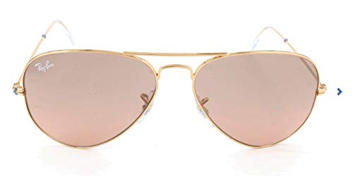Gafas de sol Ray-Ban Aviator dorado 55 mm