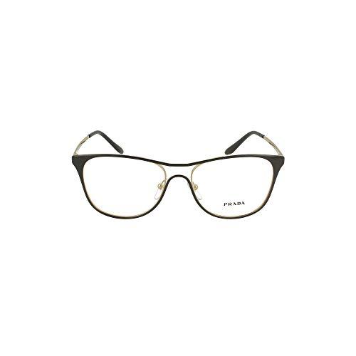 Prada Brillen Gafas de Vista CATWALK PR 59XV BLACK 53/16/145 Damen