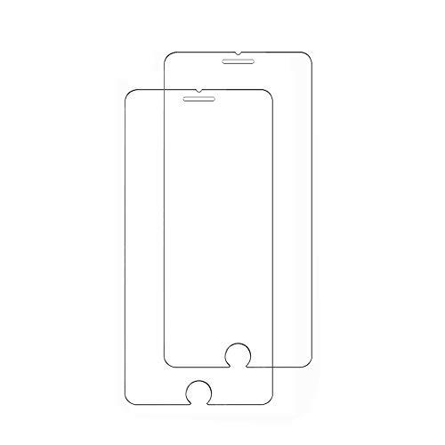 Carcasa para iPhone 6 iPhone 6S con botones y carcasa transparente de silicona TPU para iPhone 6 Plus/6S Plus Cristal blindado. Talla única