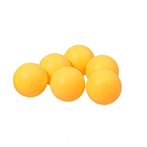 JUNGEN 6 Stück Tischtennisball Zelluloid Ping Pong-Bälle 40mm Trainingsbälle Table Tennis