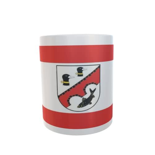 U24 Tasse Kaffeebecher Mug Cup Flagge Premnitz