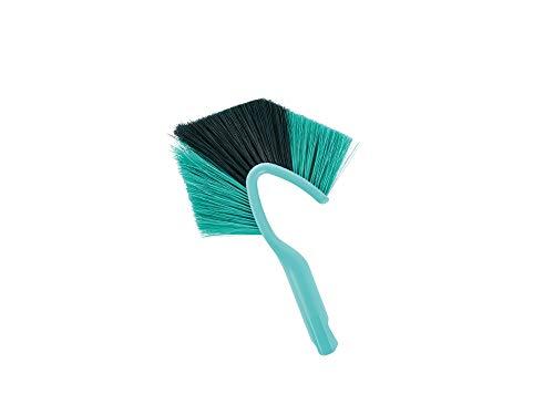 Leifheit Wand und Deckenbesen Dusty Handgerät für eine effektive Reinigung, speziell geformter Staubwedel, kompakter Handfeger mit Click-System