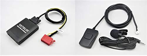 Yatour YTM06-MB-BT Dgitaler Musikadapter USB, SD AUX Freisprecheinrichtung Bluetooth Mercedes Benz Autoradio CD-Wechsler