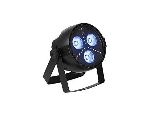 EUROLITE LED PARty Hybrid Spot   LED-Effektscheinwerfer mit RGB-LEDs und Stroboskop