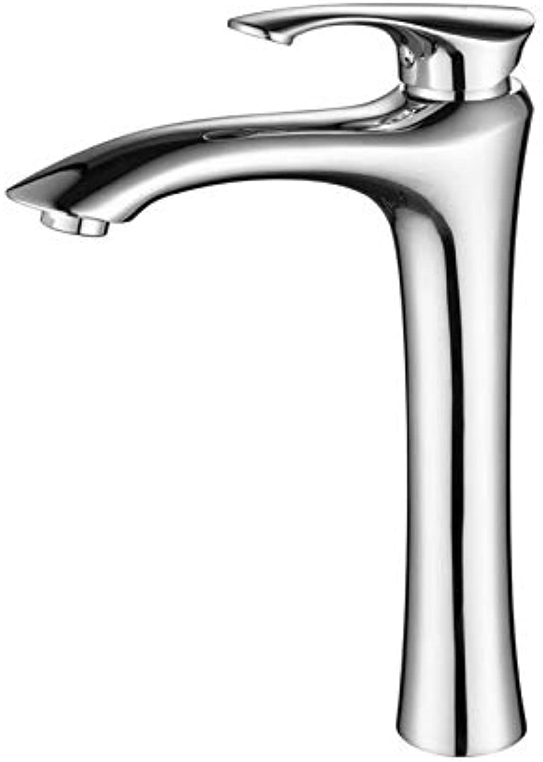 redOOY Taps Faucet Basin Faucet Bathroom Bathroom Basin Faucet Copper Height Wash Basin Faucet Hot And Cold Single Hole Basin Faucet