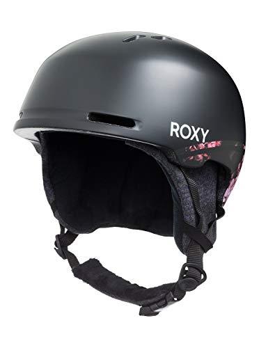 Roxy Damen Kashmir-Snowboard-/Skihelm für Frauen, True Black Blooming Party, M