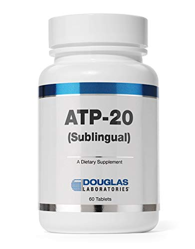 Douglas Laboratories - ATP-20 (Sublingual) - Adenosine Triphosphate Dissolvable Tablet for Cellular Energy Support - 60 Tablets