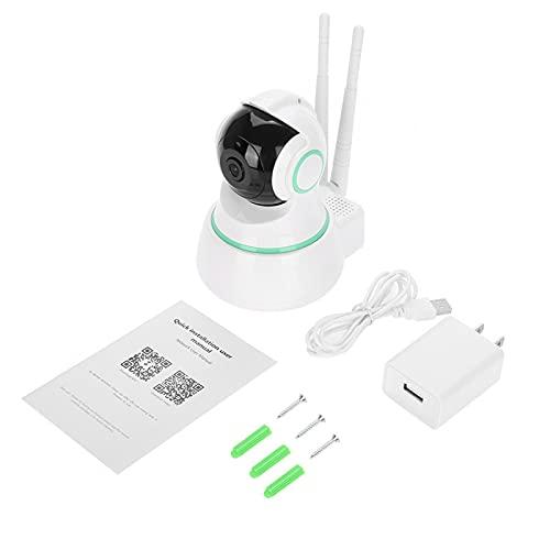 Cámara Monitorización remota Audio bidireccional Inteligente IR Visión Nocturna Monitor de bebé WiFi(American Standard (110V-220V))