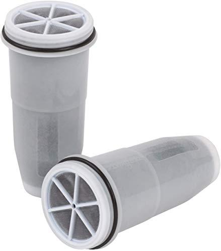 ZeroWater Tumbler ZR-230 Travel Bottle Filters (2 Pack), 1-Pack, White