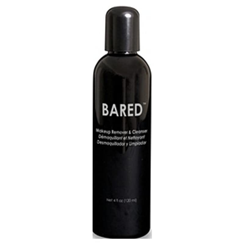 オレンジ拮抗する癒すmehron Bared Makeup Remover and Cleanser - Clear (並行輸入品)