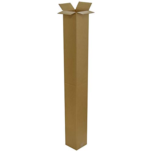 ボックスバンク ダンボール(段ボール箱)ゴルフクラブ・ポスター用(15×15×130cm)5枚セット 2つ折り配送 FG01-0005